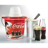 Nostalgia Coca-cola® 4-quart Fabrica De Helado | Icmp400coke