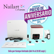 Impresora De Uñas Nailart By Funai Kit Inicial