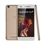 Reembalado Smartphone Quantum You L 32gb Dourado