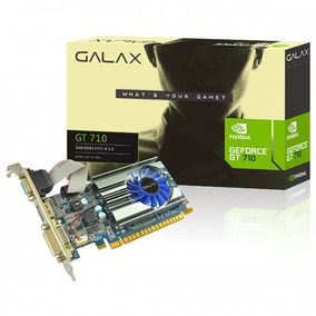 Placa De Video Galax Geforce Gt 710 1gb Ddr3 64-bit Hdmi/dvi