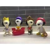 Snoopy Coleccion Mcdonalds (los 4 Muñecos)