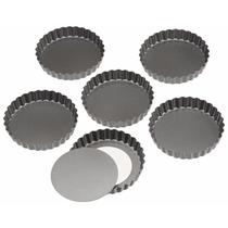 Molde Para Tartaletas Con Fondo Removible 2 Piezas