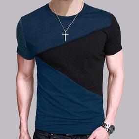 Camiseta Urbana Moda Casual Ropa Fashion Corte Slim Fit L