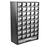 Organizador Multiuso Plástico 12 Polegadas Com 41 Gavetas