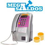 Megasaldos Telefono Publico Monedero Para Negocio Amarillo