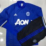 Agasalho Manchester United Football Club Julho 2017 Azul