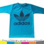 Camiseta Lycra Manga Larga Para Niños Adidas Nike Puma Under