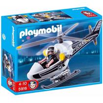 Playmobil 5916 Helicóptero De Policía Mejor Precio!!