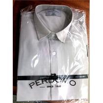 Camisa Vestir Manga Larga. Perdomo. Diseño Italiano.
