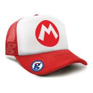 Gorras Trucker Mario Bros Luigi