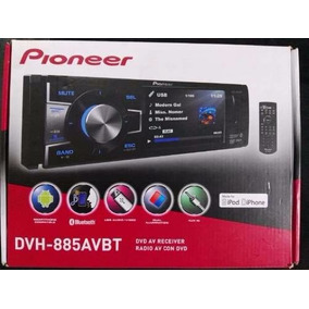 Stereo Pioneer Dvh-885avbt Desmontable Dvd Usb Bluetooth