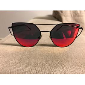 Oculo Lente Vermelha - Óculos De Sol em Goiás no Mercado Livre Brasil 7ace04cdce