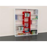 Mueble Separador Ambiente Estante Librero Bib Melamine 18mm