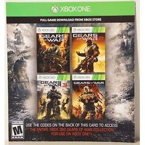 En Pack: Gears Of War+gears Of War 2+gears Of War 3+judgment