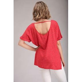 Blusas De Verano De Mujer Roja - Ropa y Accesorios en Mercado Libre ... 2da7576e409f