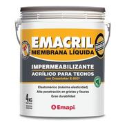 Membrana Líquida Impermeabilizante Emacril 20 Kg Zona Norte