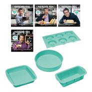 Clarín Pastelería Fácil Set 1 De 4 Moldes De Silicona