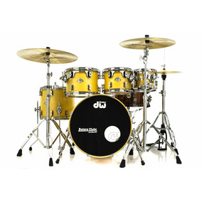 Bateria Pdp By Dw Platinum Maple Exotic Curly 20¨,8¨,10¨,12¨