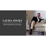 Medias Compresión8-15 Mmhg Lauda Socks® Microfibra 3/4vestir