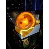 Esfera Del Dragon 4 Estrellas Tamaño Real 7.6 Cm