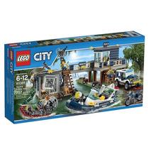 Lego-city Delegacia Da Polícia No Pântano 707 Peças 60069