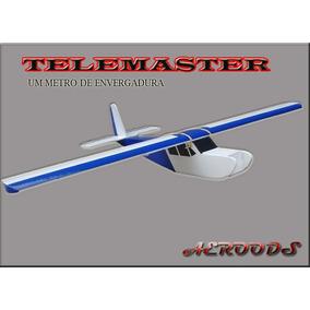 Aeromodelo De Depron Telemaster Super Dócil Eletrico