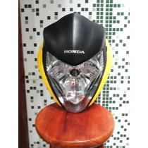 Kit Frontal+bananas+bloco Farol Cb300