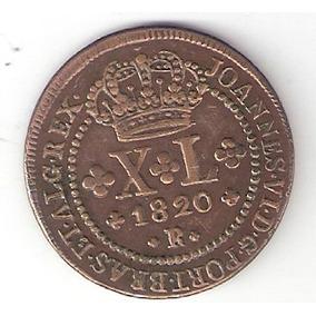 Xl Reis 1820r - 52 Perolas - Sob (c-517)