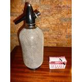 Botella Sifon Para Usar Con Gas Carbonatado De Coleccion