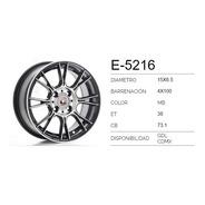 Rines 15 Ms Sport 4/100 Clio Chevy Versa Aveo Costo X 2 Pzas