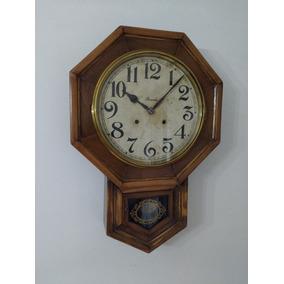 Reloj Pared Antiguo Ansonia Pendulo