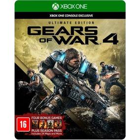 Gears Of War 4 Ultimate Edicion Fisico Español En Game Star