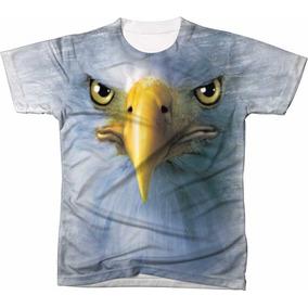 Camisa Camiseta Blusa 3d Águia Eagle Usa Estados Unidos 23