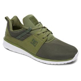 Tenis Dc Shoes Heathrow Verde
