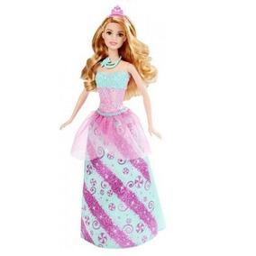 Barbie Reinos Magicos Surtido De Princesas Vestido Rosa Con