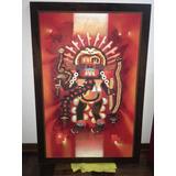Cuadro Al Óleo , Arte, Huaco. Cultura Peruana
