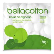 Pompones De Algodón X 50u 100% Natural  Bellacotton