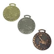 100 Medallas Deportiva 3,5cm Fútbol Futbol