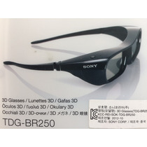 Oculos 3d Para Tv Sony Passiva Mod. Tdg-br250 Black