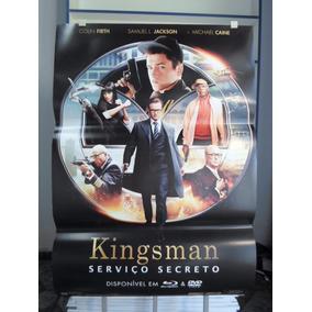Poster Kingsman - Serviço Secreto - Frete: 8,00