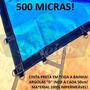 Super Lona 500 Micra 6x4 M Polietileno Plástica Impermeável