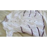 Camisa Blanca Plumetí Cuello Mao 2 Años