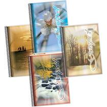Caderno Universit. Capa Pasta Gospel 20x01 400folhas - Cx.12