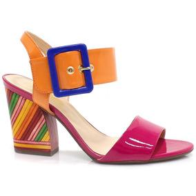 Sandália Zariff Shoes Color Block | Zariff