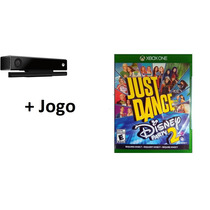 Sensor Kinect Xbox One Microsoft+jogo Just Dance Disney 2