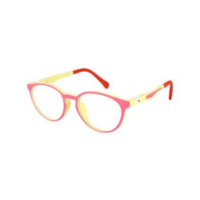 Armação Óculos Grau Infantil Retrô 6-12 Anos Feminina