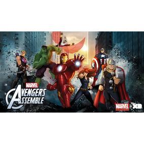 Dvd - Vingadores Unidos (avengers Assemble)