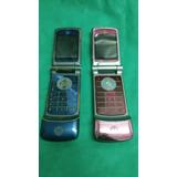 Lote De Dos Celulares Motorola K1 Para Repuestos