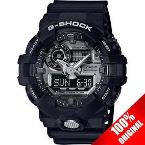 Reloj Casio G Shock Ga 710 Edición Plata Cristal Mineral