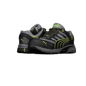 Zapato De Seguridad Ligero Puma P524 Para Hombre Gris/limón